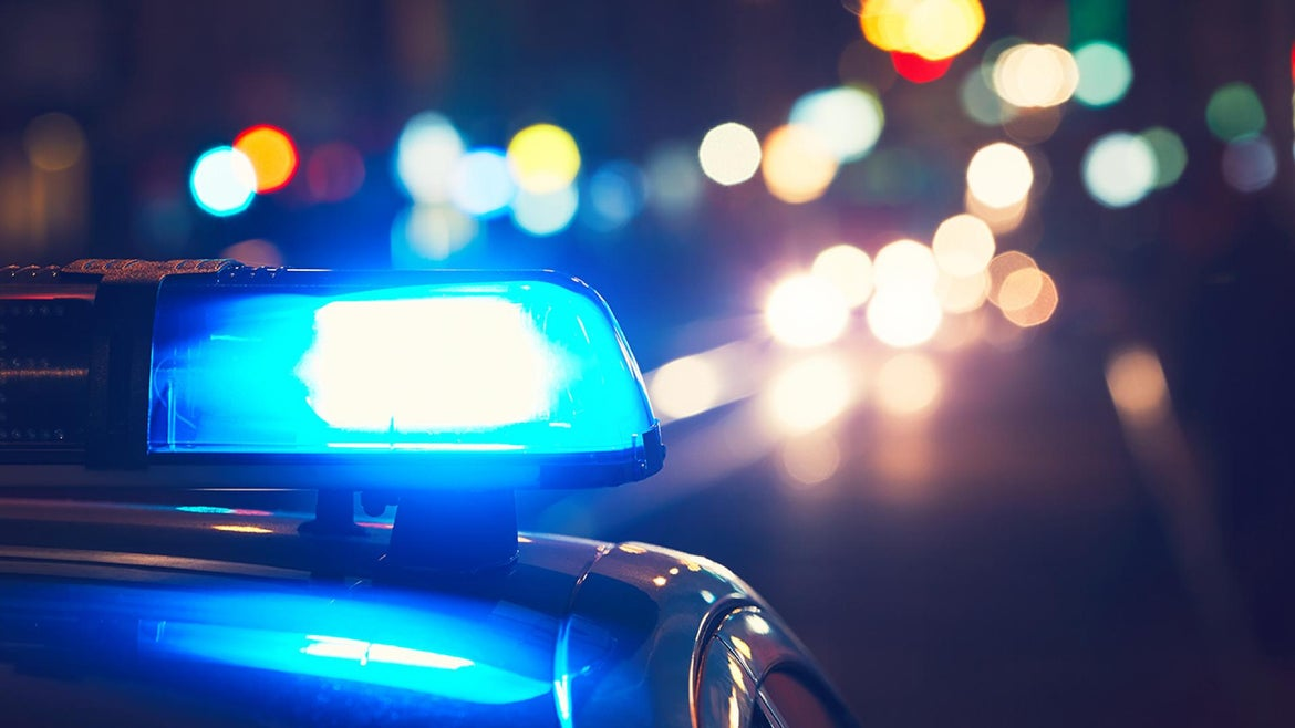 A generic image of a cop car is pictured here.