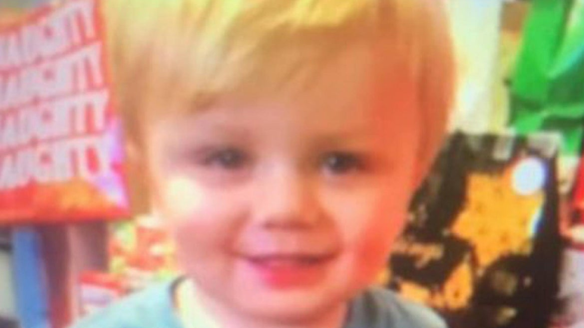 Kenneth Howard was reported missing Sunday evening by his family, who called for help about an hour after realizing the 22-month-old child was nowhere to be found, authorities said.