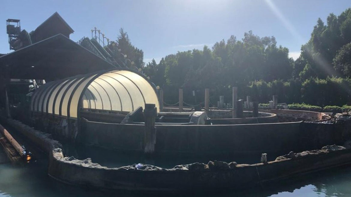 The family was on a log flume-type ride at Castle Park when a water pump experienced a mechanical failure Saturday, the city of Riverside Fire Department said.
