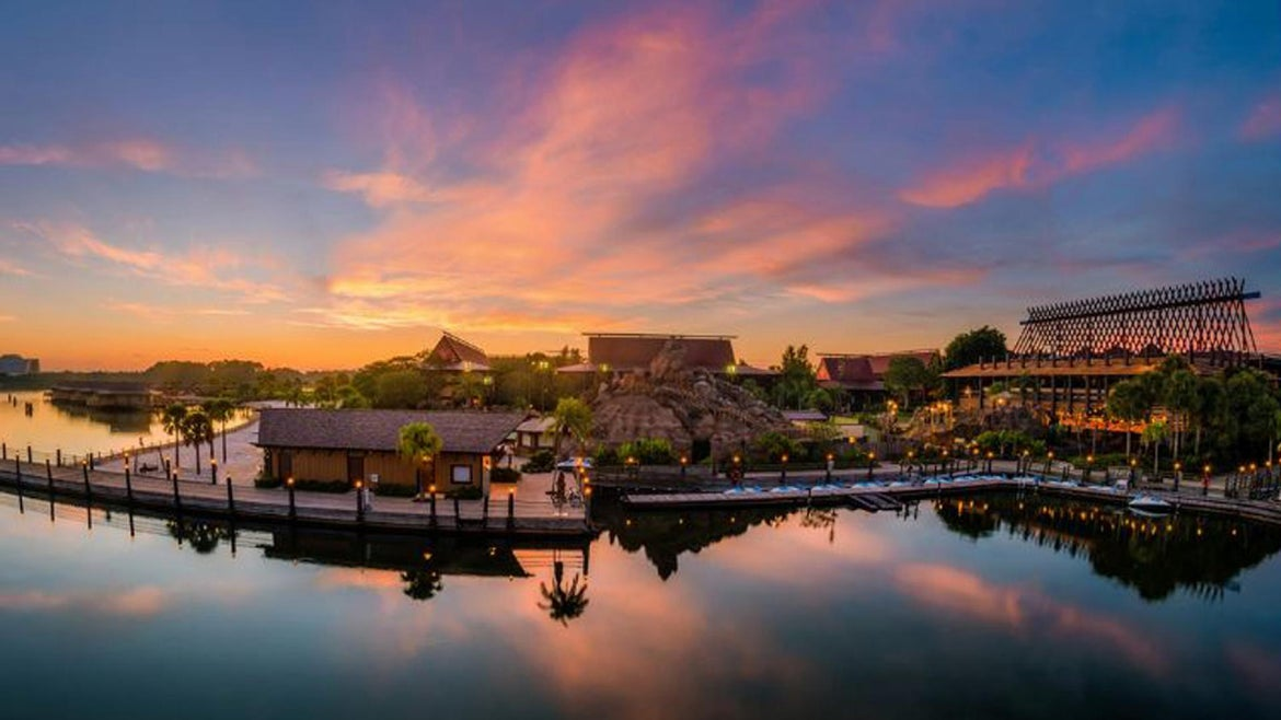 The alleged attack occurred at Disney World's Polynesian Village Resort.