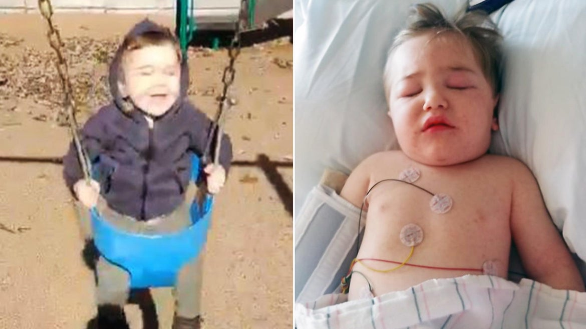 2-year-old Jackson Oblisk went from playing in the park to being unconscious in the ICU in a matter of days.