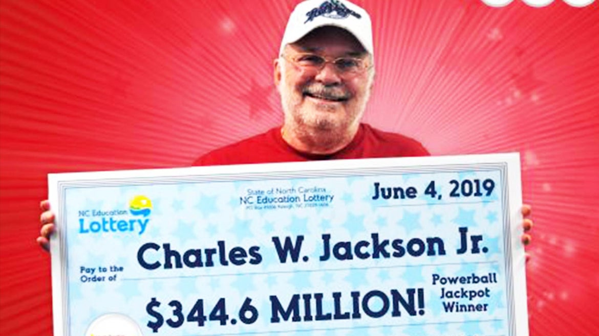 Charles W. Jackson Jr. wins big using numbers he found on a fortune cookie.
