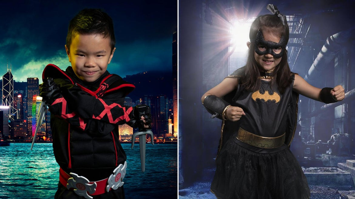 A Texas couple transforms children with special needs into superheroes with photography.