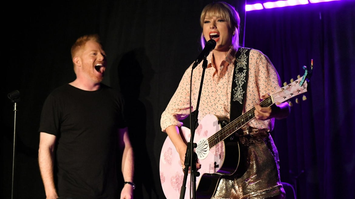 Taylor Swift gave a surprise performance at the Stonewall Inn.