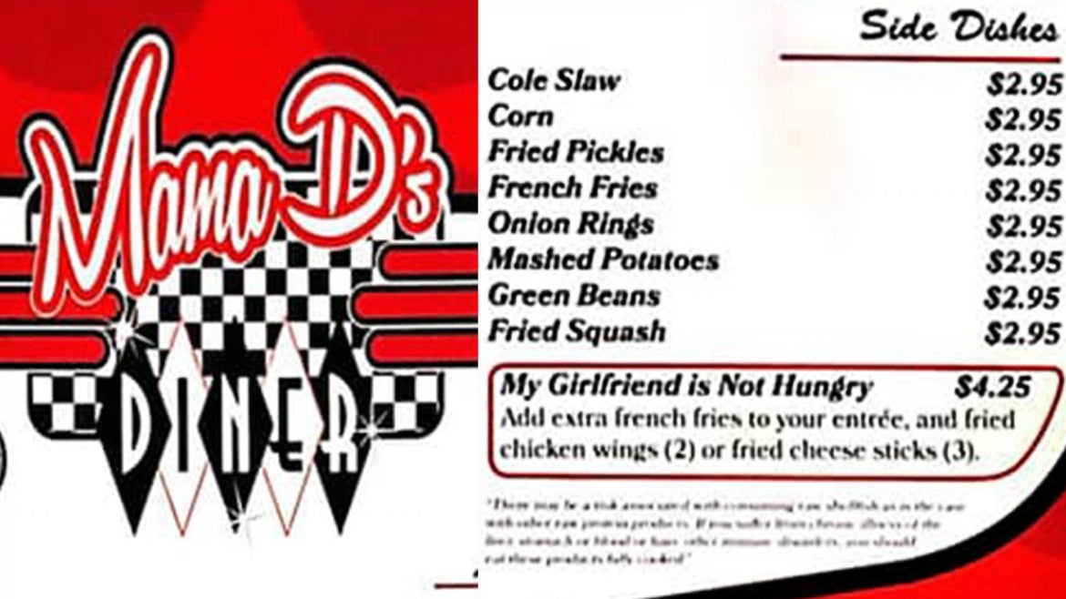 The Arkansas restaurant is going viral for a clever menu add-on.