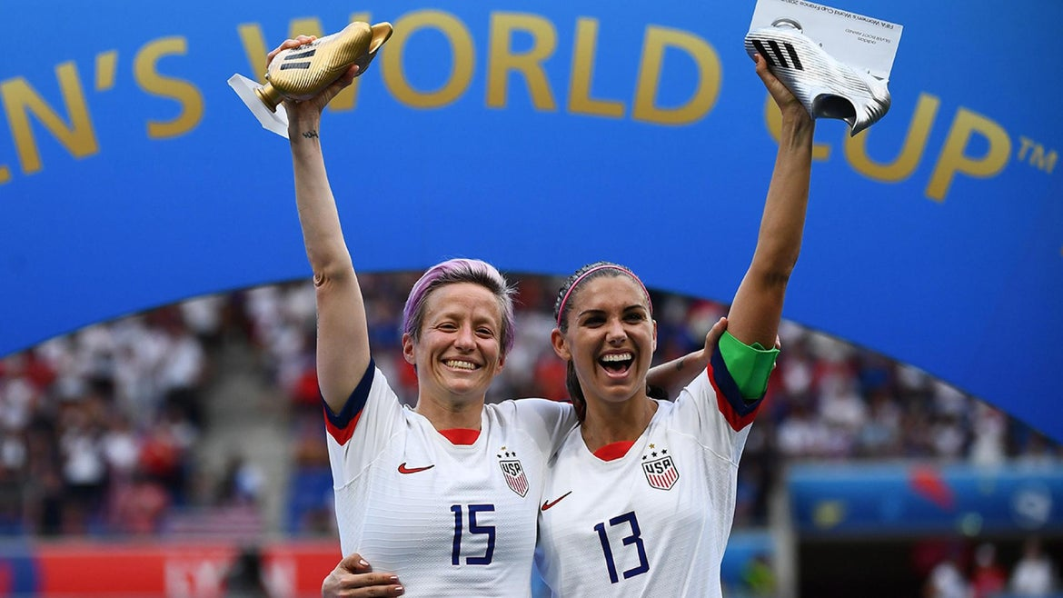 The U.S. Women's National Team won its fourth World Cup title.