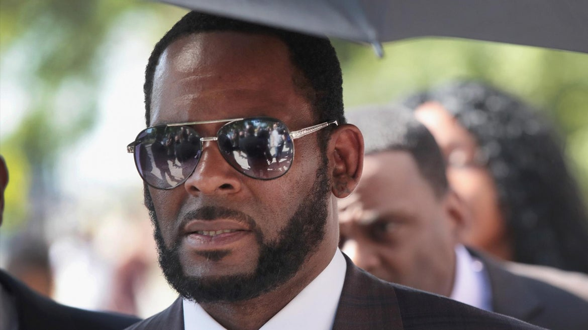 R. Kelly at a previous court appearance.