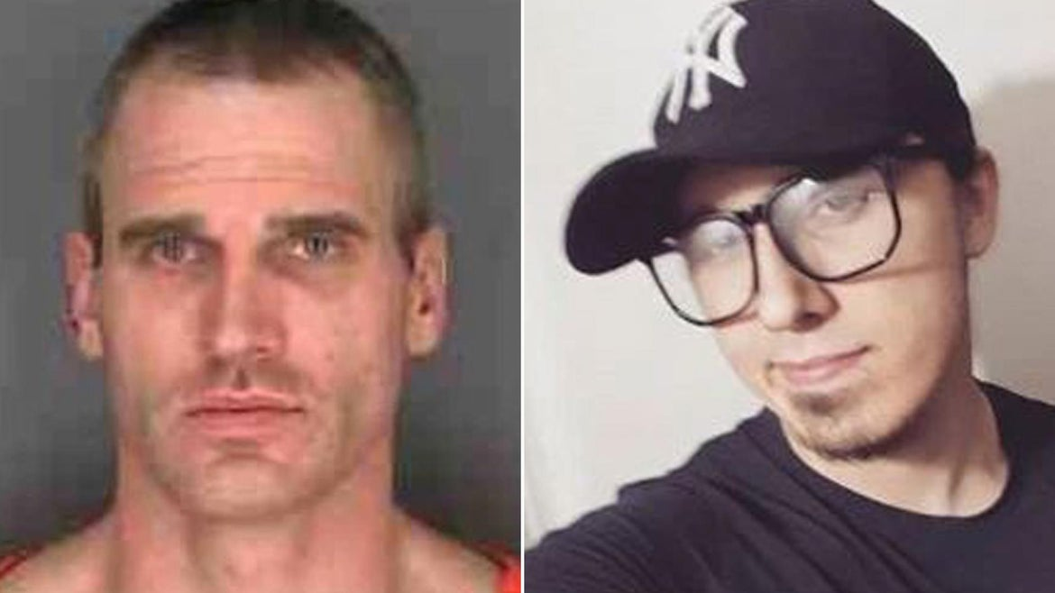 Jason Clark of Fulton, New York, held his son Brandon Clark's mother hostage for 10 hours as he threatened to kill her and himself with a knife in January 2010.