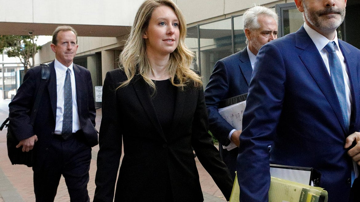 Elizabeth Holmes appeared in court on Wednesday, July 17, 2019.