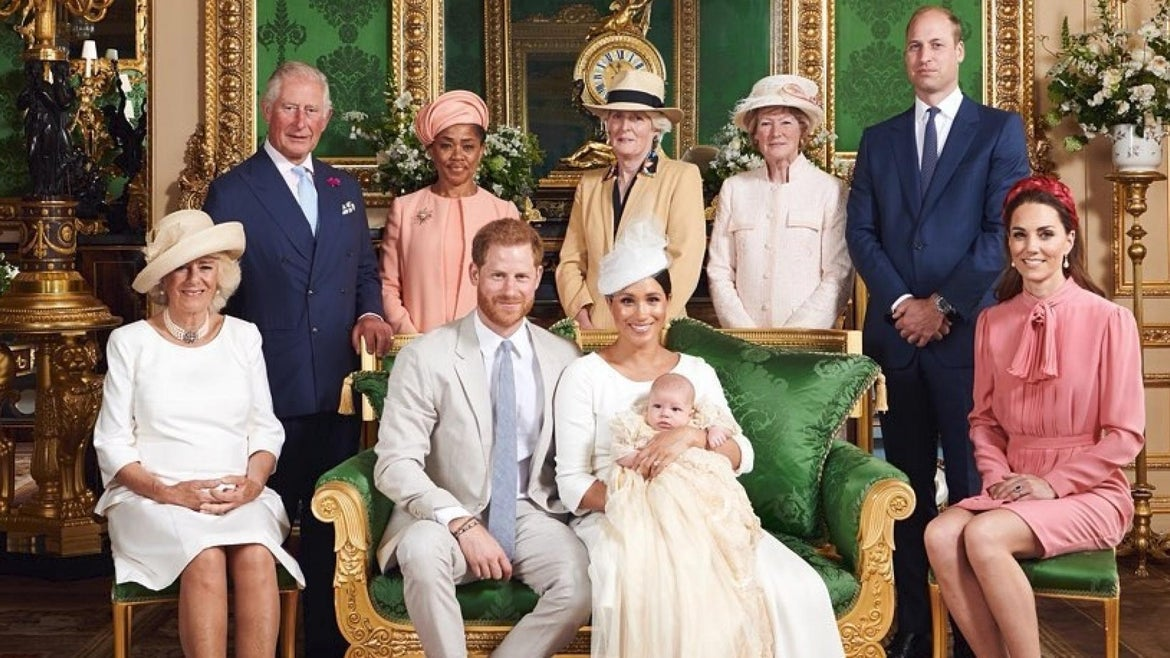 Meghan and Harry's son, Archie, was christened at Windsor Castle.