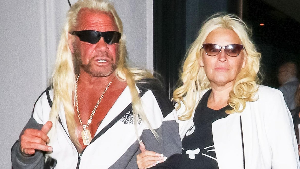 Duane Chapman said his late wife Beth's final words are helping him cope with the loss.
