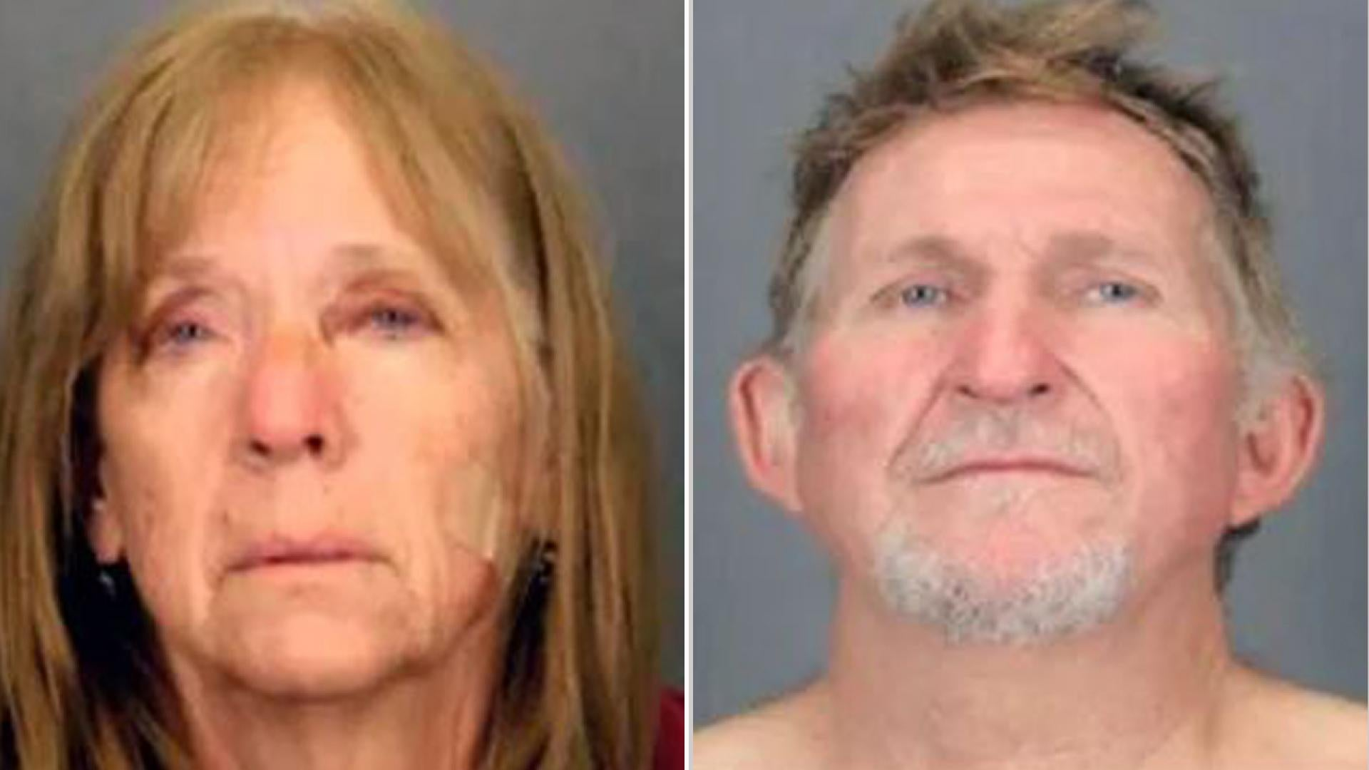 Two fugitives are on the lam after escaping custody while being extradited.