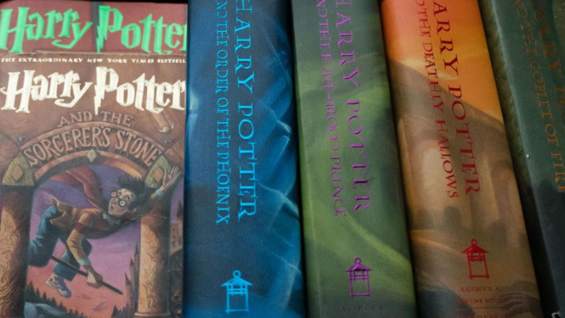 A Catholic priest has banned Harry Potter books at a school library.