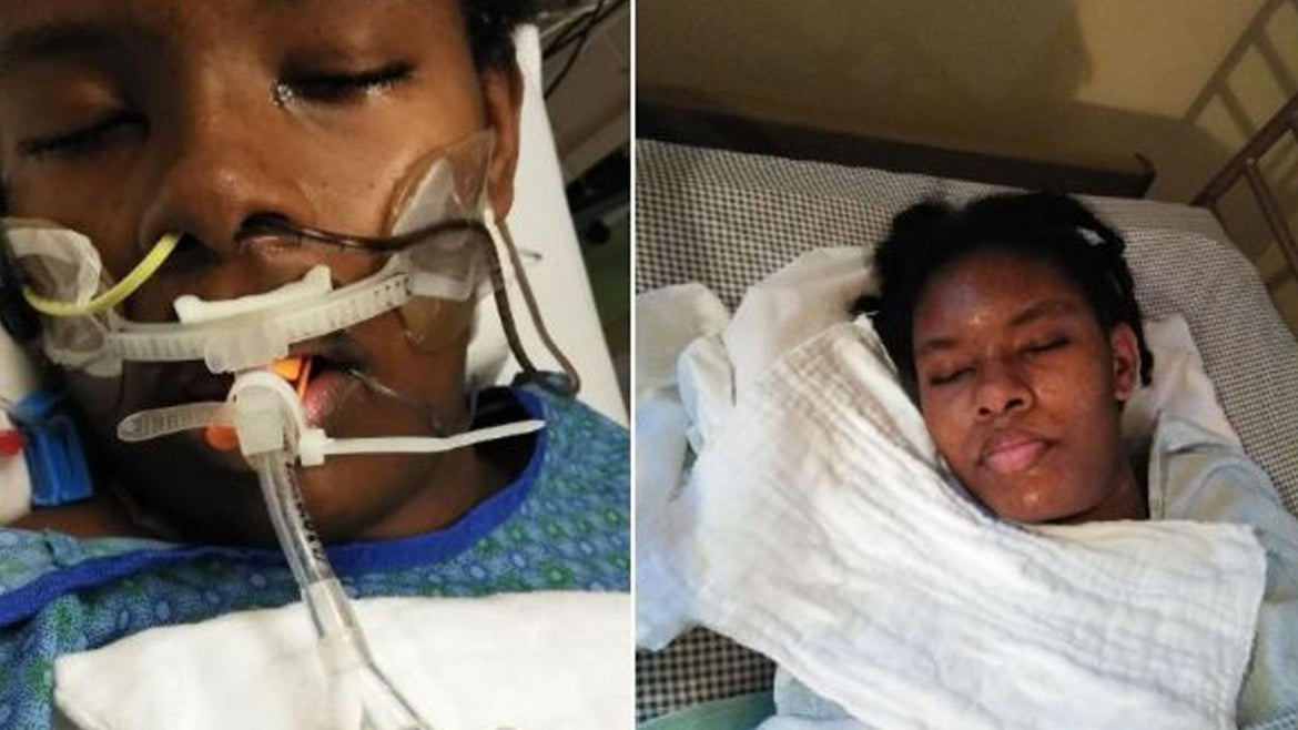 Aaliyah Bowen, 14, is now in a vegetative state, her parents said.