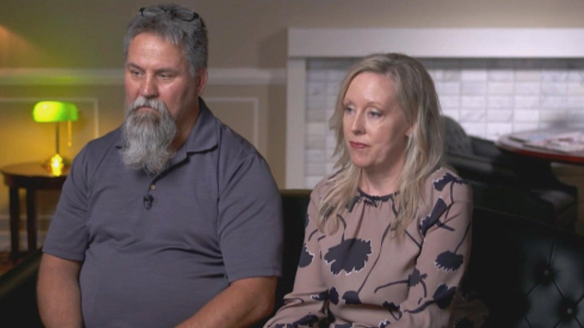 The now-divorced couple is suing the clinic.