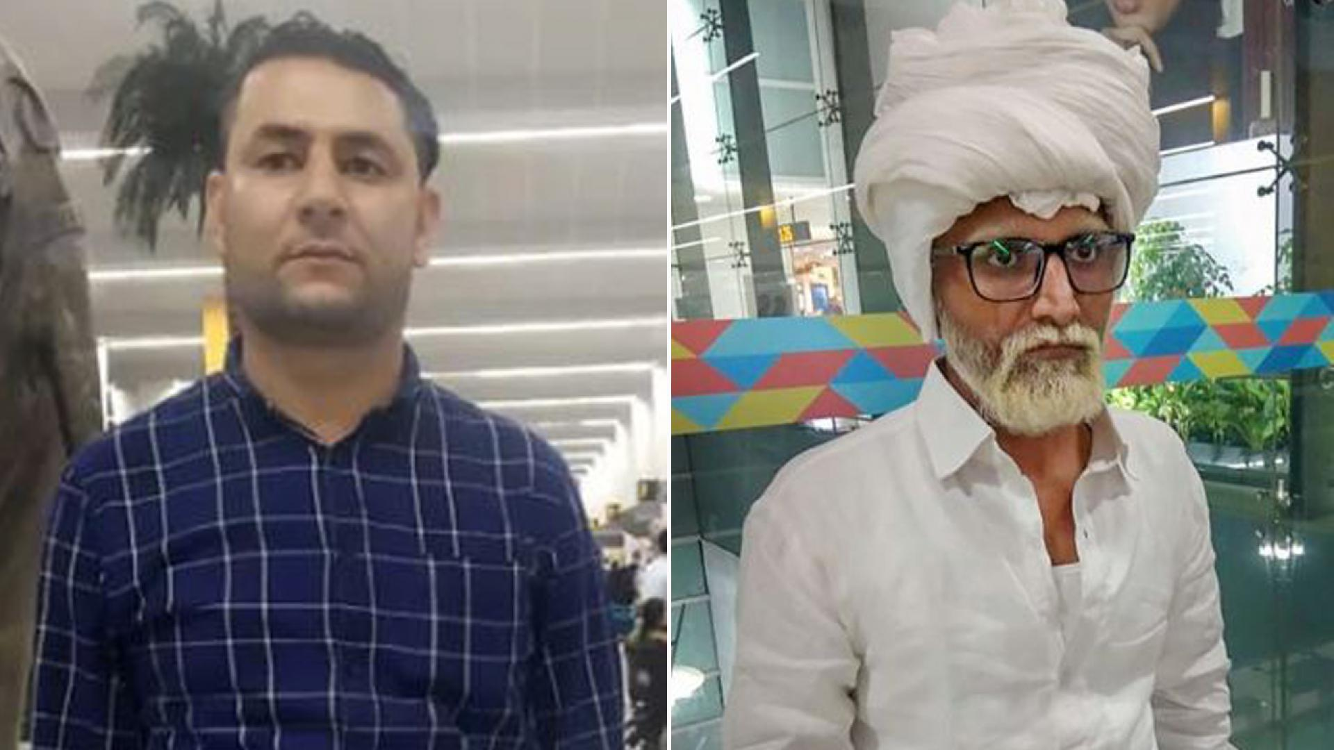 An Indian man allegedly used a fake passport and beard to try to sneak on a flight to the U.S.