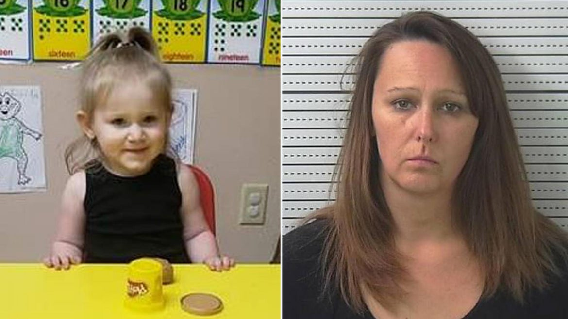 Zariah Hasheme's babysitter Tammie Brooks allegedly forgot the toddler in her car as temperatures on Tuesday soared to 91 degrees, police said.