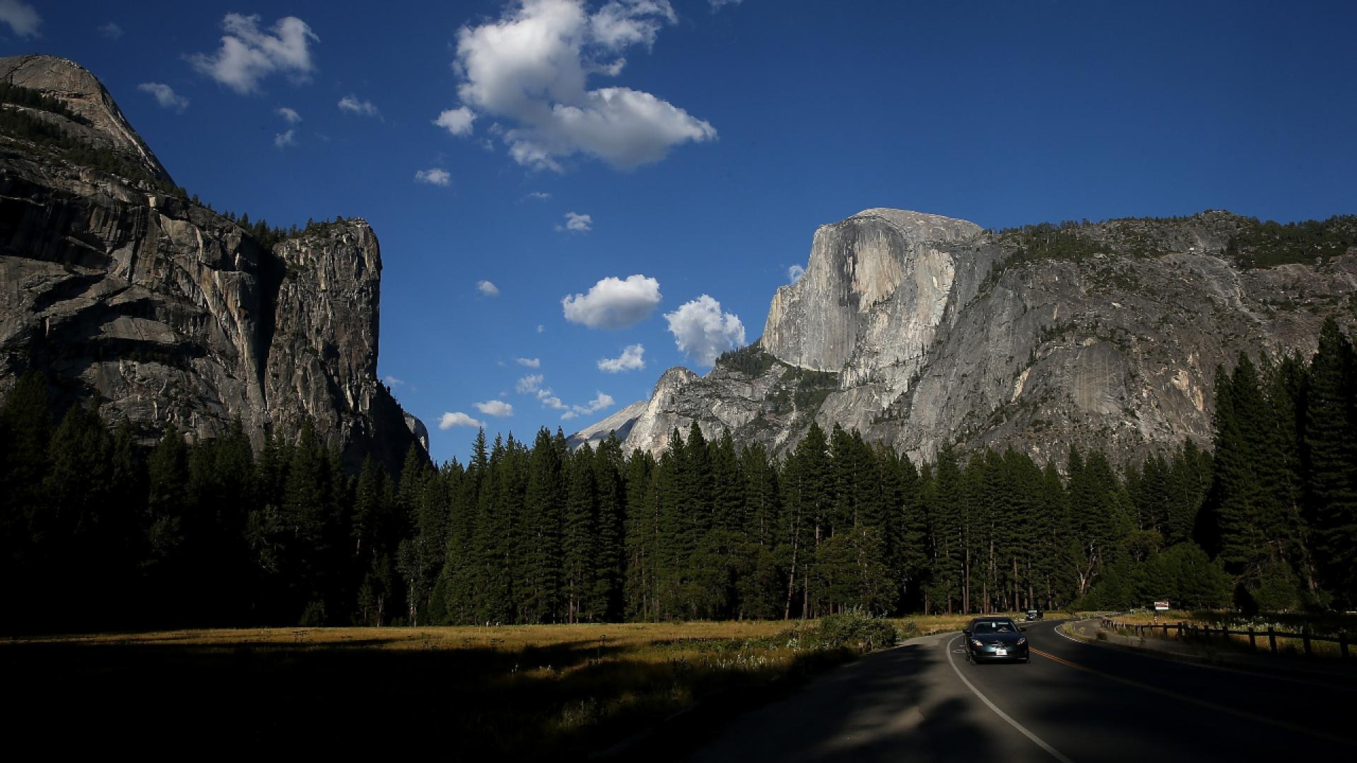 A woman died after falling 500 feet off Yosemite's Half Dome.