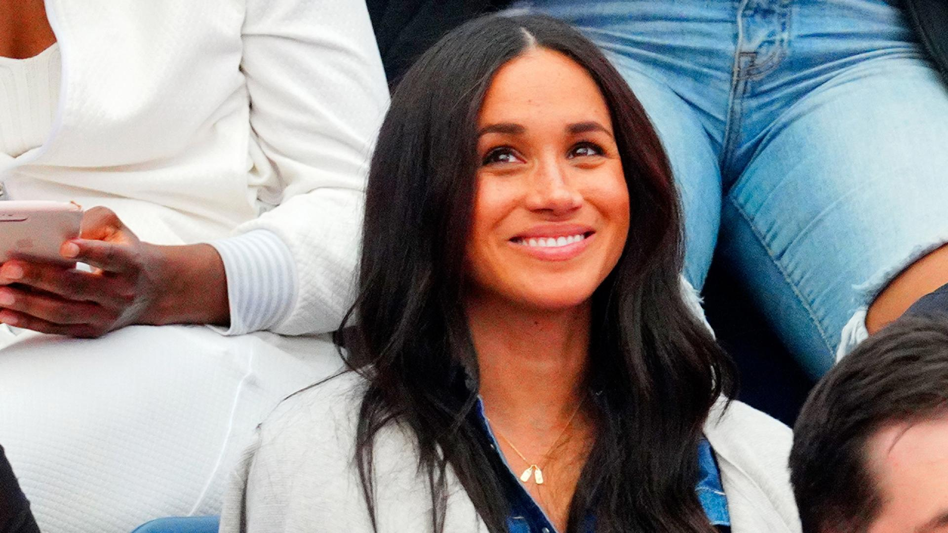 Meghan Markle honored baby Archie and Prince Harry at the U.S. Open.