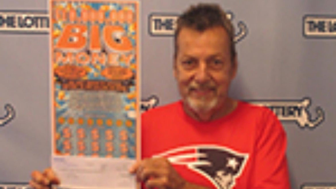 Peter Levesque had to take a detour home, but he ended up winning a $10 million lottery.