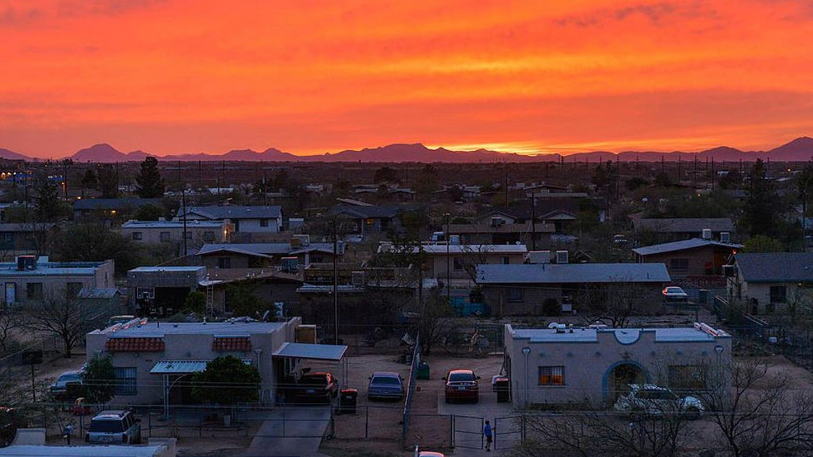 The Pascua Yaqui Indian Reservation