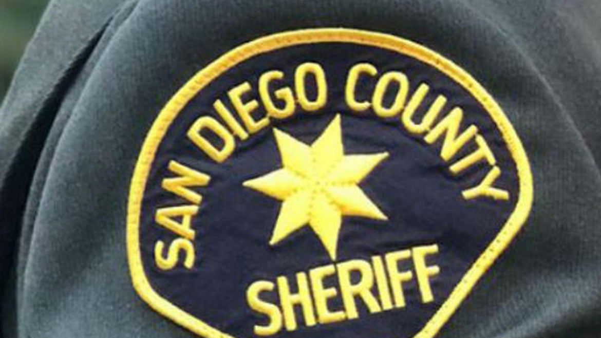 San Diego County Sheriff's deputies arrested a 32-year-old man.