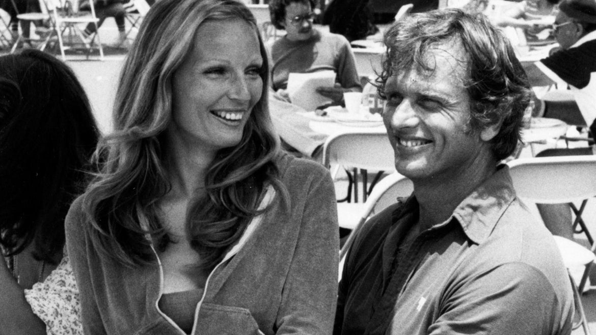 Ron Ely and Valerie together in 1977.