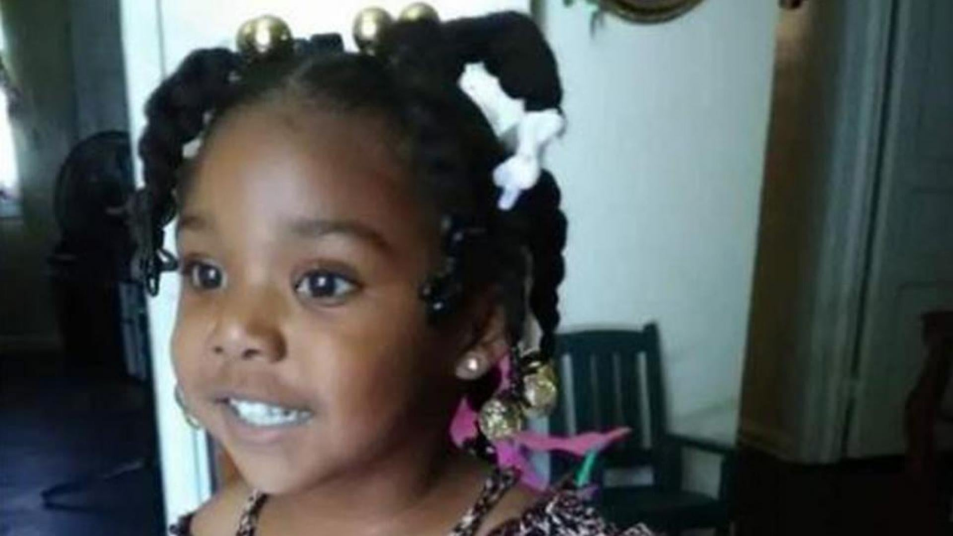 The little girl disappeared from a birthday party in October.