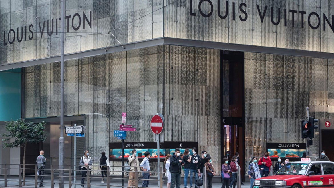 The company who owns Louis Vuitton, LVMH, says they will use its perfume line to make the hand sanitizer after a shortage in the country and will be delivered free to medical professionals.