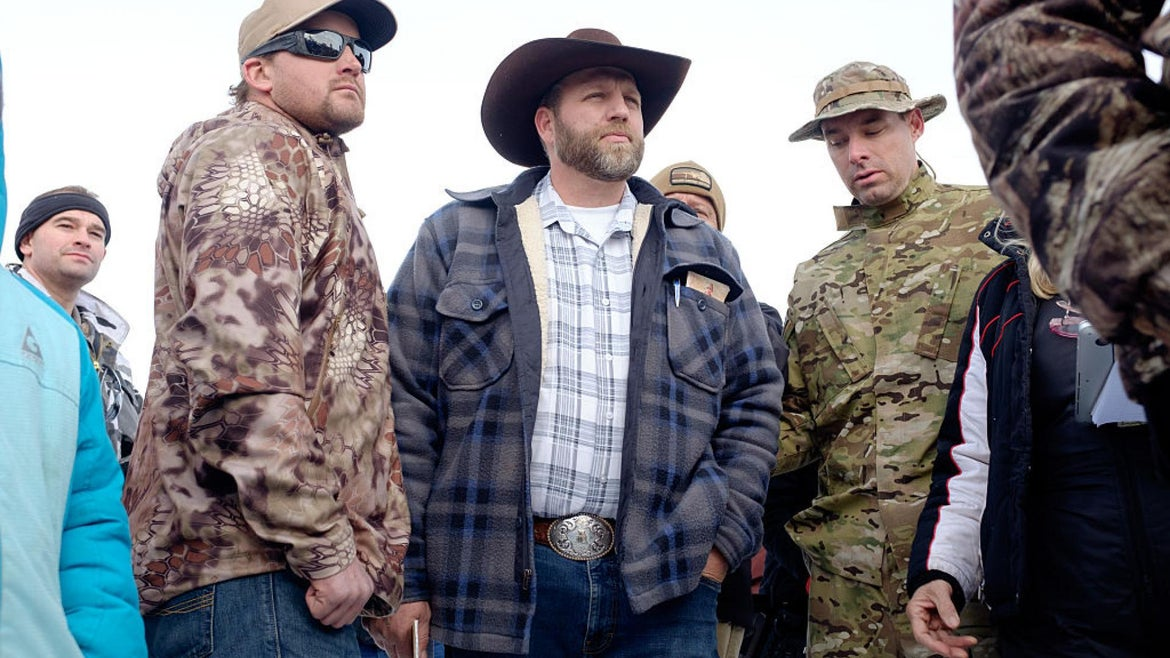 Ammon Bundy says he will defy state orders to remain at home.