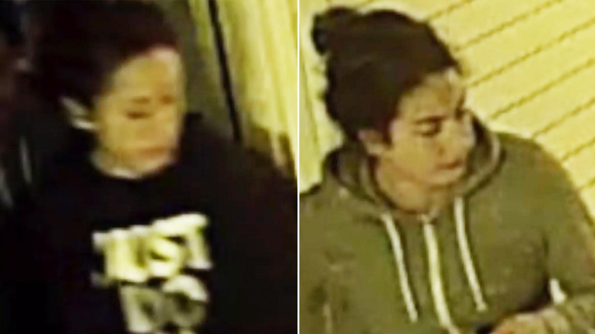 Stephanie Mayorga, 27, and Paige Escalera, 25, were last seen in surveillance footage leaving their Wilmington home in their car.