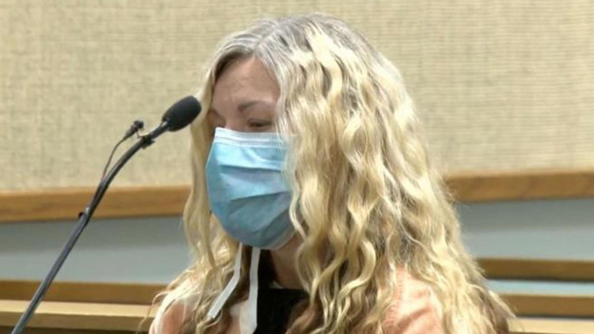 Lori Vallow appears in court.