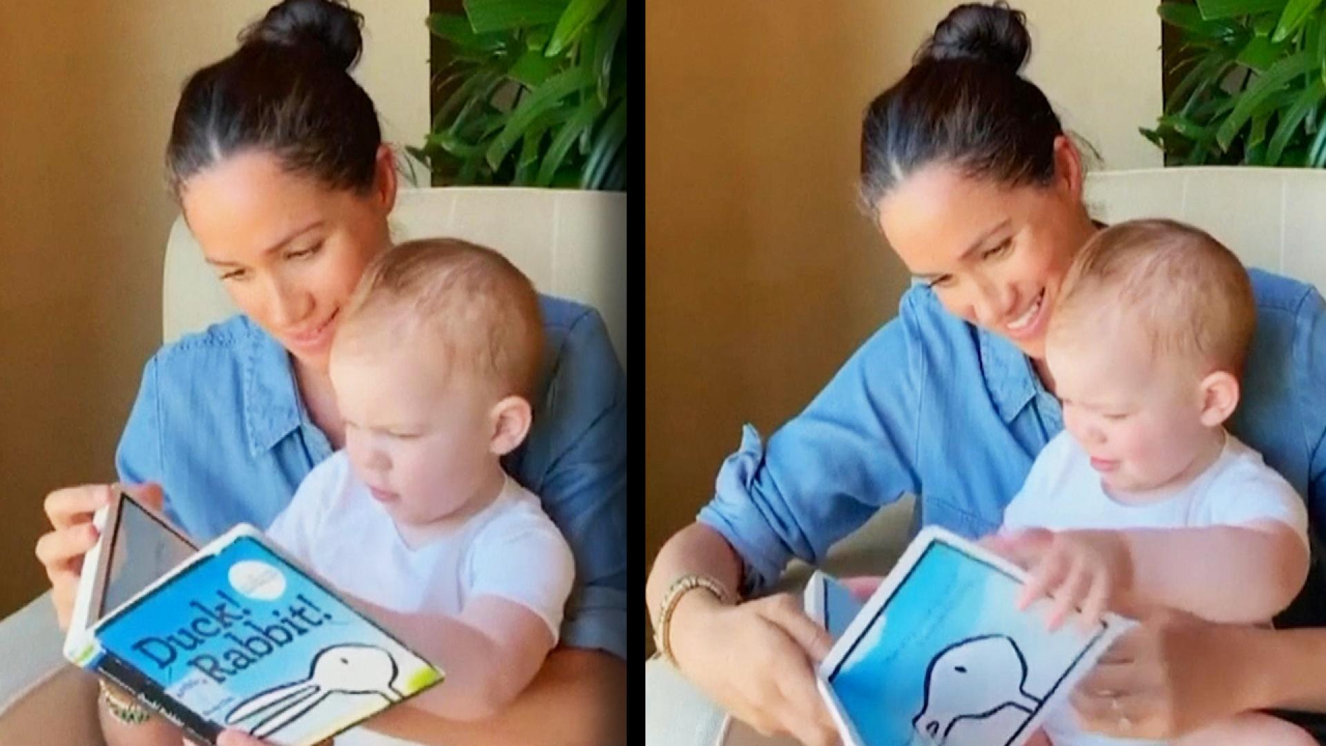 late co author of book meghan markle read to archie had her own touching love story inside edition book meghan markle read to archie had