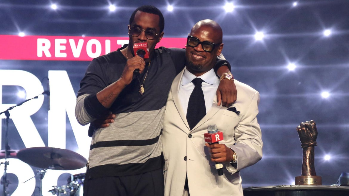Andre Harrell and Diddy Revolt Music Conference