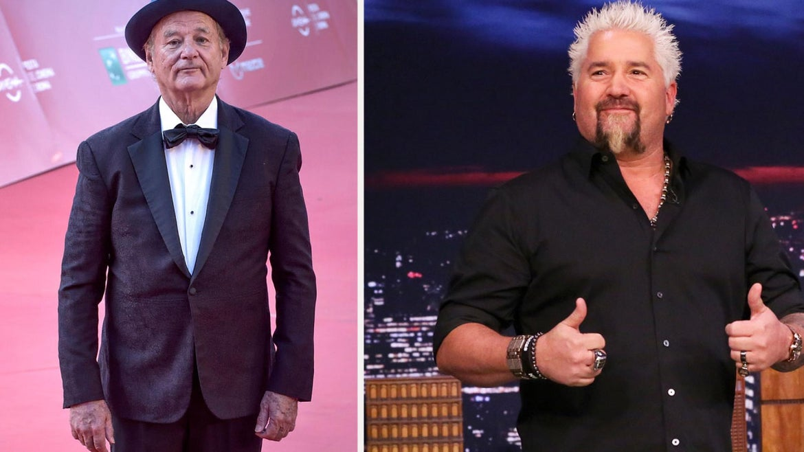 """""""The Nacho Average Showdown"""" will see the """"Life Aquatic"""" star and the host of """"Diners, Drive-ins, and Dives,"""" go head to head to compete to make the best nachos."""