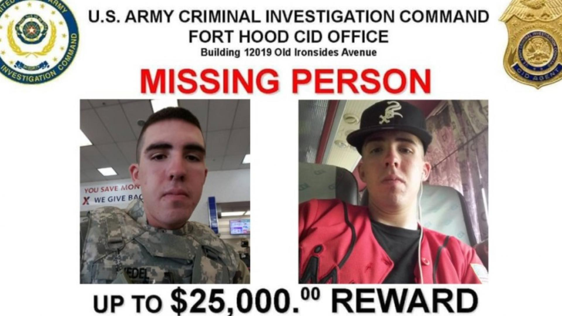 Gregory Wedel-Morales went missing last year.