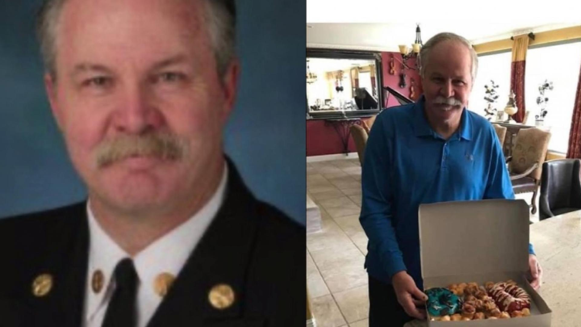 The missing fire chief was last seen Saturday night.