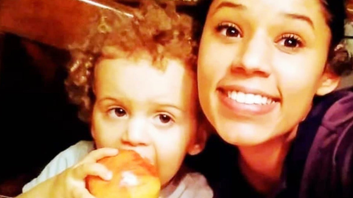 Leila Cavett is still missing after her 2-year-old son Kamdyn was found wandering the Florida streets in a t-shirt and diaper.