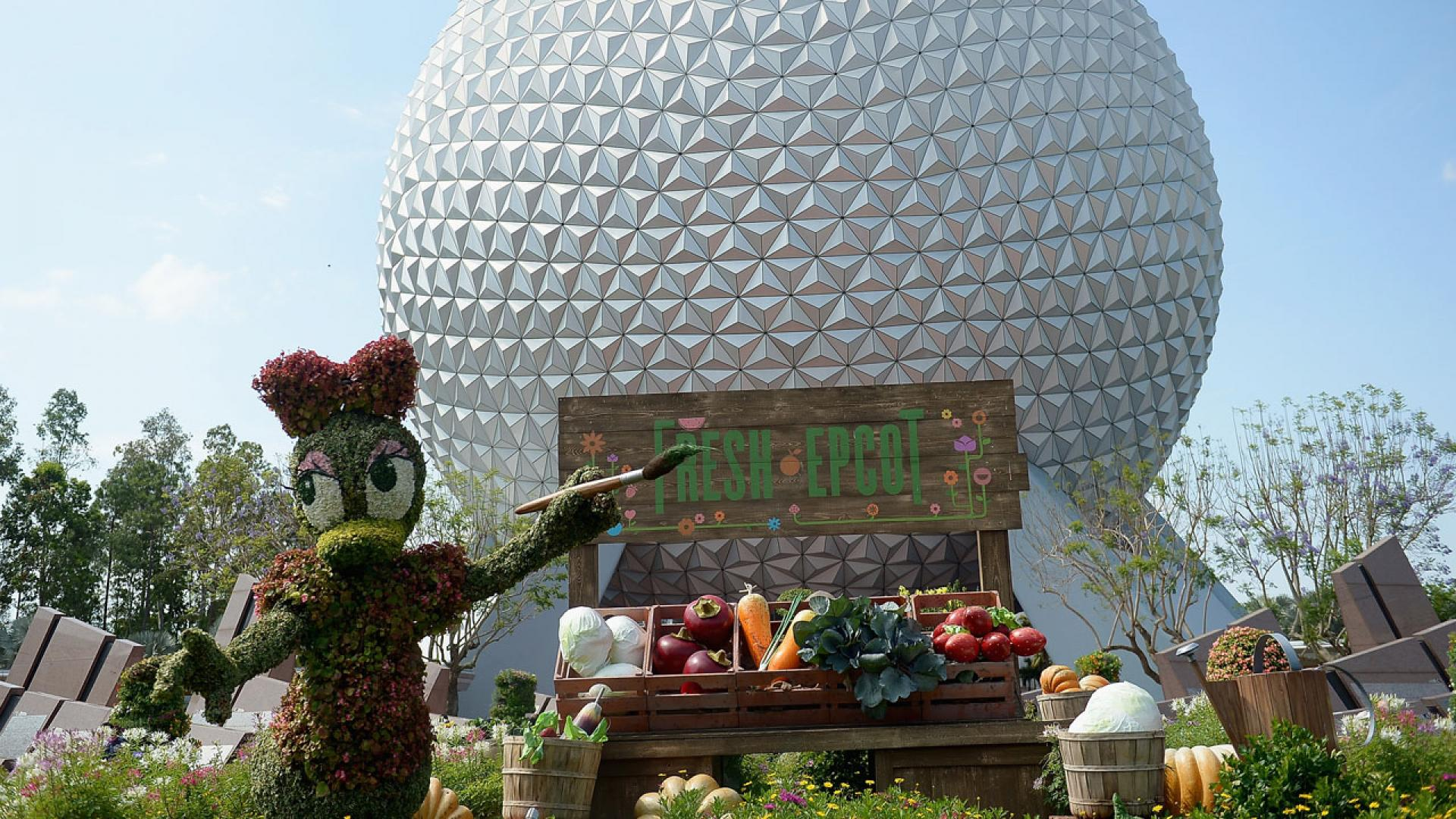 Epcot Center at Disney World in Orlando, Florida.