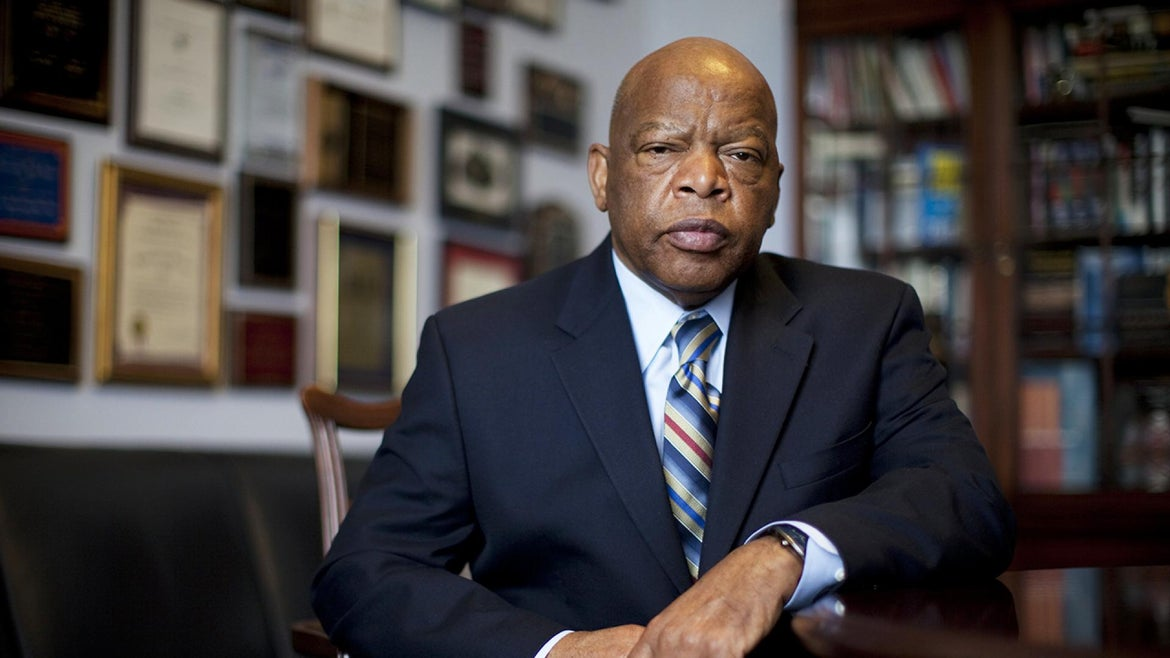 Congressman John Lewis Represented Georgia's fifth congressional district in the United States House of Representatives.