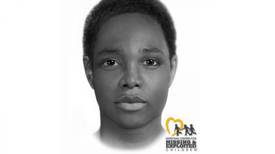 The National Center for Missing and Exploited Children has provided a computer generated image of what the victim might have looked like at the time of her death.