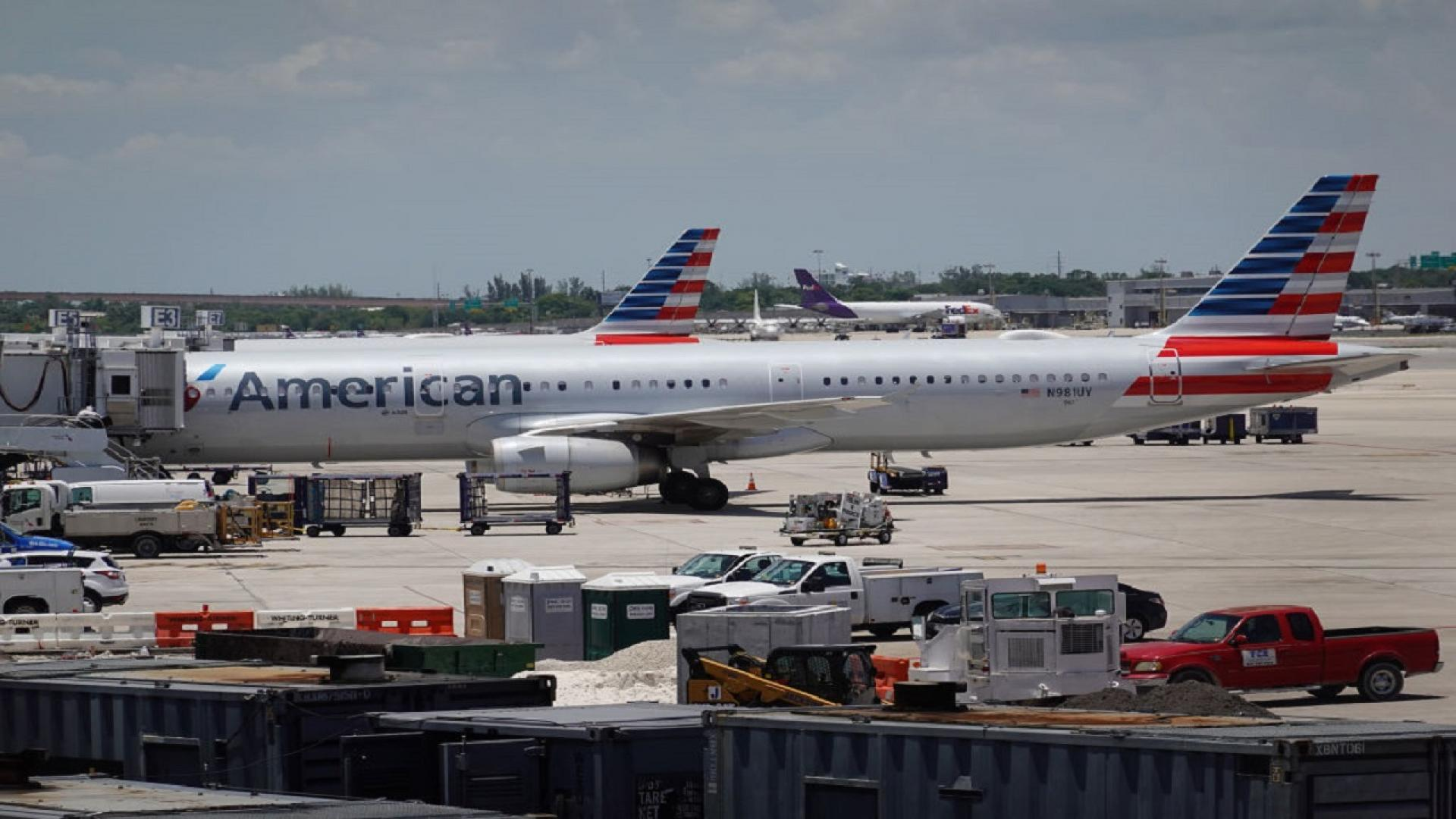 Passengers brawled on an American Airlines flight over wearing a face mask.