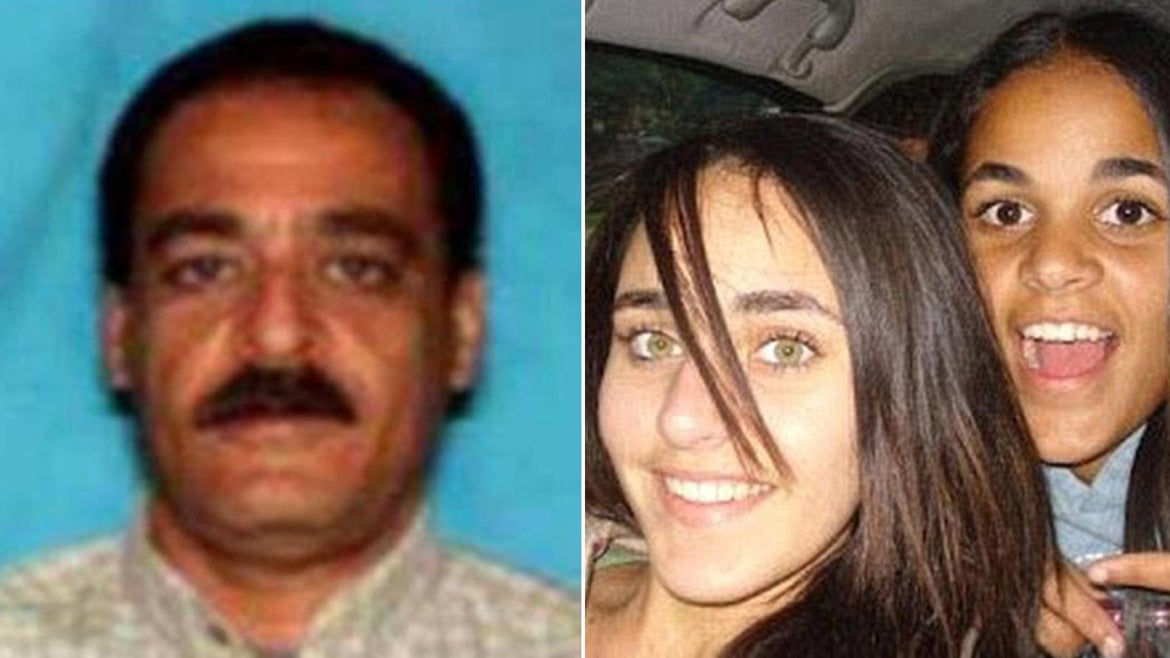 Yaser Abdel Said was wanted in connection to the killings of his two daughters.