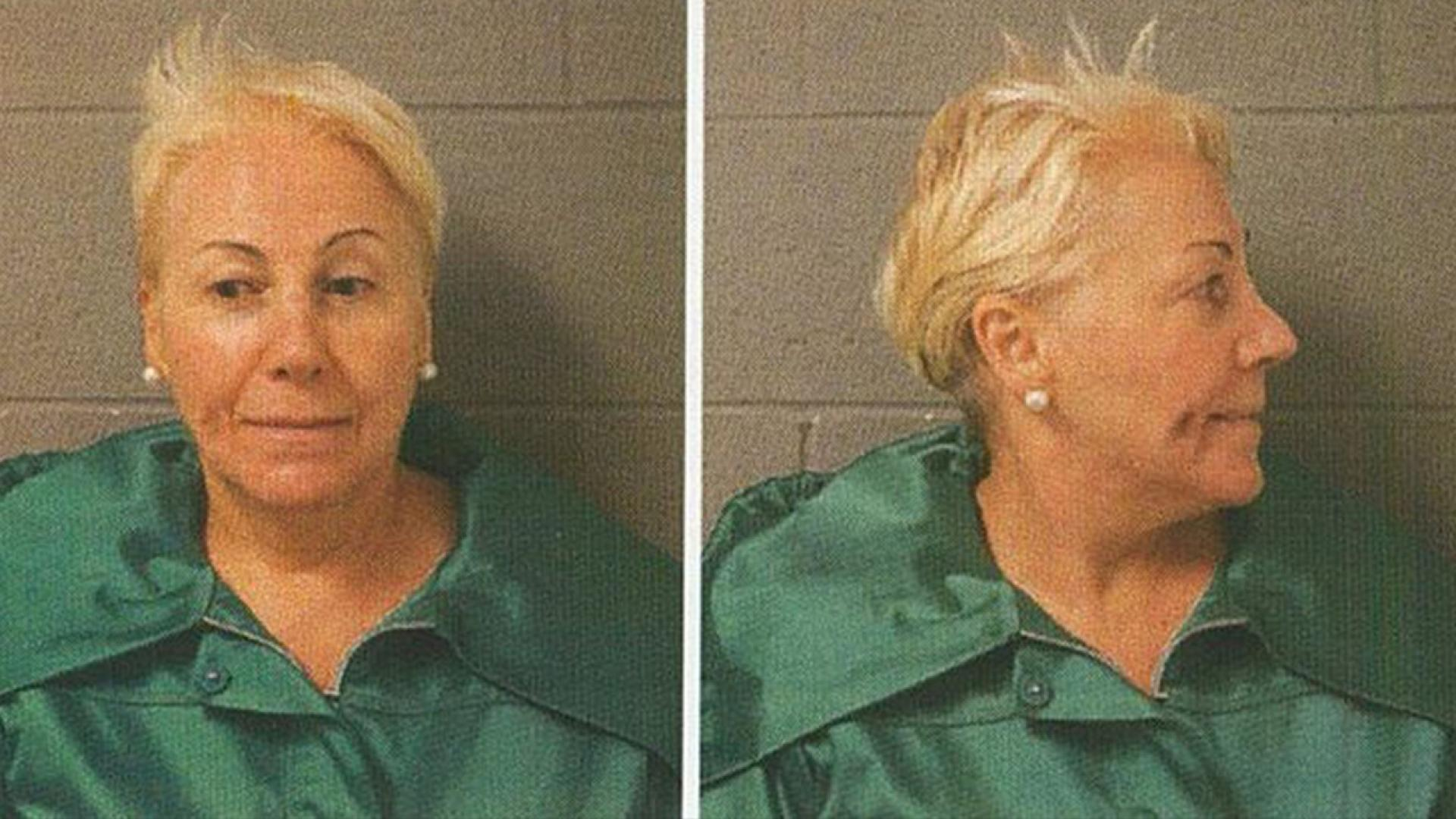 Irene Donoshaytis, 65, a Northfield resident, was charged with a hate crime.