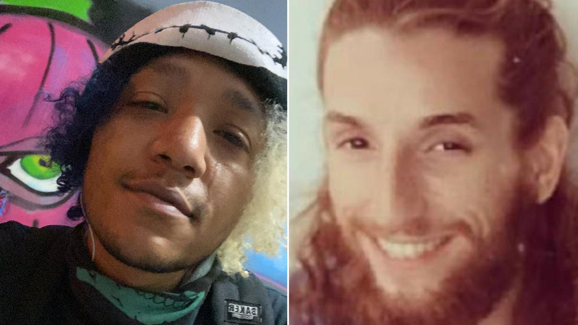 Christopher McNeal (left) shares why he and the partner of Anthony Huber, who was killed during the protests in Kenosha, are suing Facebook and others for the violence they say they experienced.