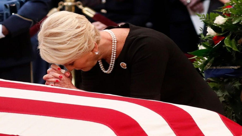 Cindy McCain has endorsed Joe Biden for president.