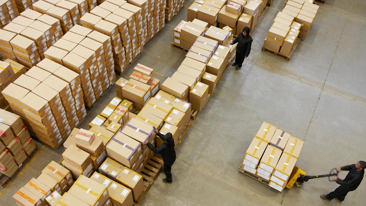 The State of Tennessee said the 13 pallets ended up on auction in error.