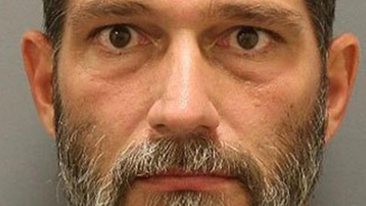 Jason Lata, 44, turned himself in following an arrest warrant issued for an assault, involving an encounter between group of Pro and Anti-Trump supporters outside of a Bucee's convenience store in Denon, Texas.