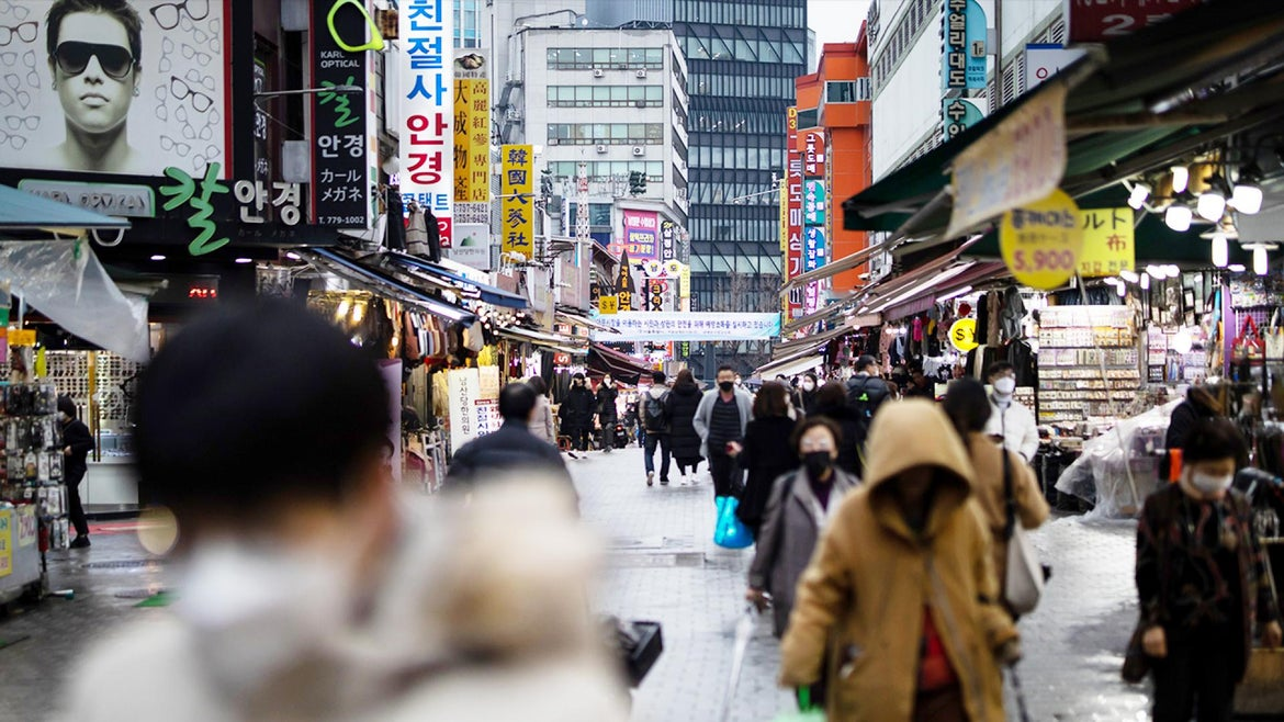 Denise McCarty had gone missing on a trip to Namdaemun Market in Seoul as a child.