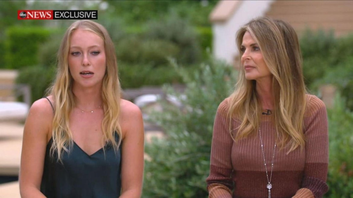 """India and Catherine Oxenberg sat down for an exclusive interview on """"Good Morning America."""""""